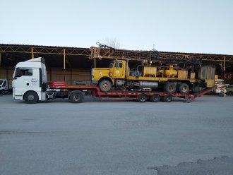 Sondaj Makinası Taşımacılığı
